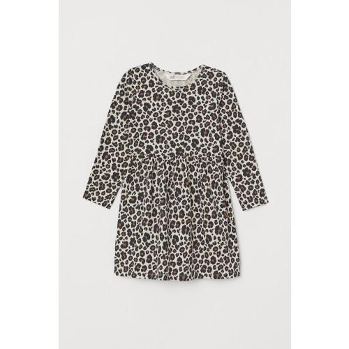 Vestido Leopardo manga larga