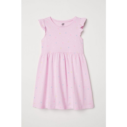 Vestido Rosa Lunares Colores chicos